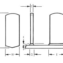 Rectangular Plain Weld Studs_Image1