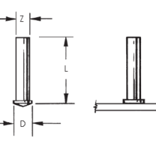 Short Cycle No Thread Weld Studs_Image1