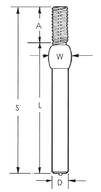 Threaded Collar Crimped Weld Studs_Image 1