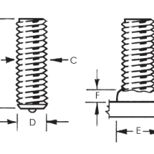 Threaded Fully Weld Stud_Image 1