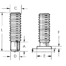 Threaded Partially Weld Stud_Image 1