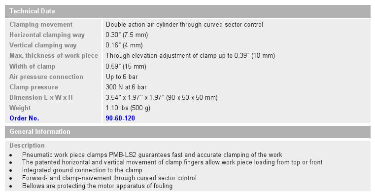 PMB-Pneumatic Clamp_chart
